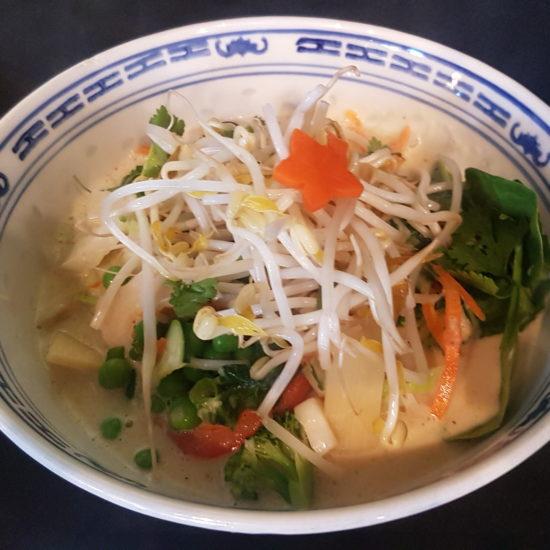 Thai Coconut Noodle Bowl