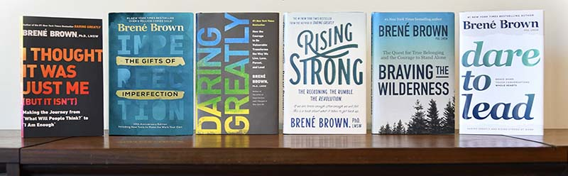 Dr Brene Brown Author-Books