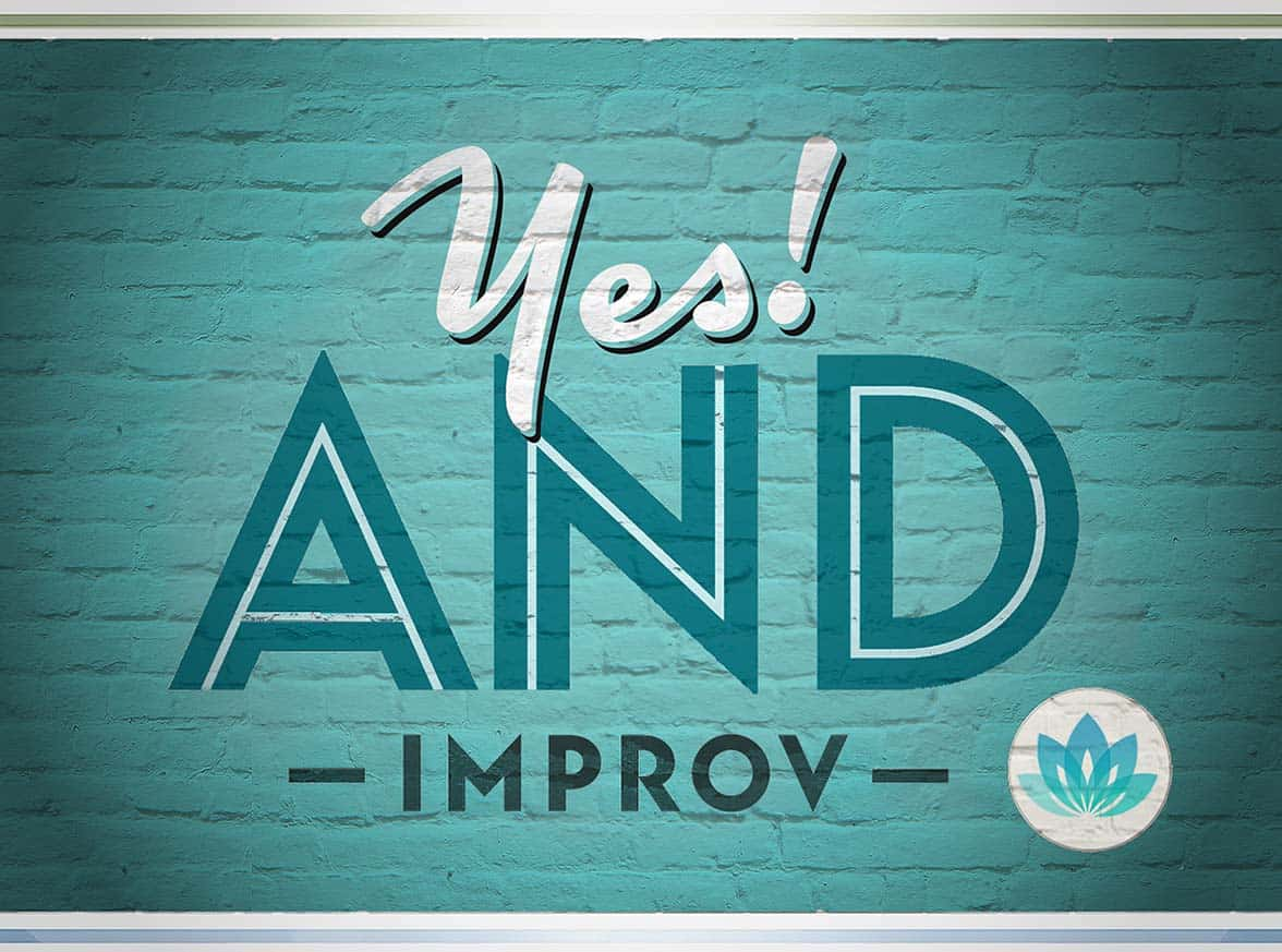 Finding your improv groove means stepping outside the predictability box and leaping into the NOW