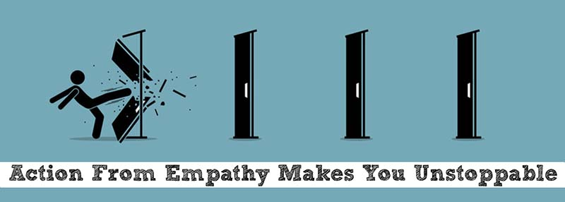 Action from empathy
