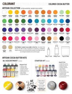 colorant catalog
