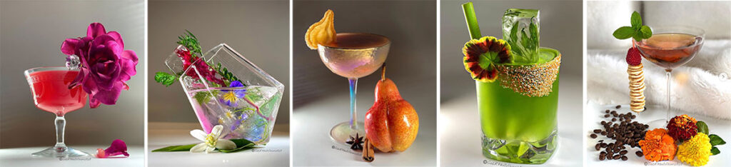 cocktails by Yelena Anter