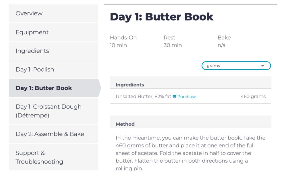 Detailed Recipe Steps