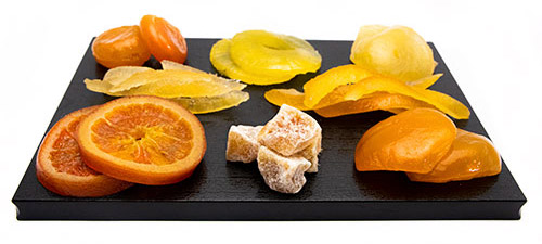 glace candied fruit
