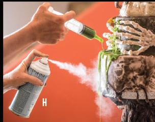 freeze spray and syringe