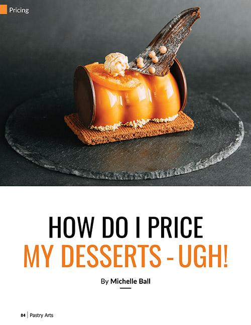 pricing desserts