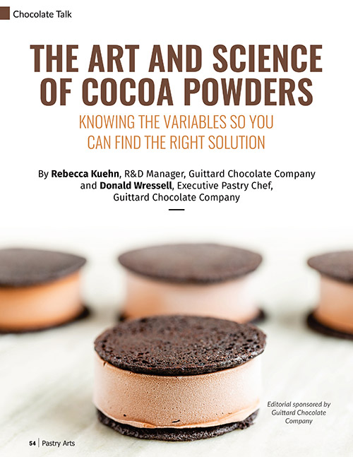 art and science of cocoa powders