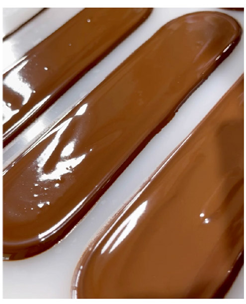 chocolate in chablons