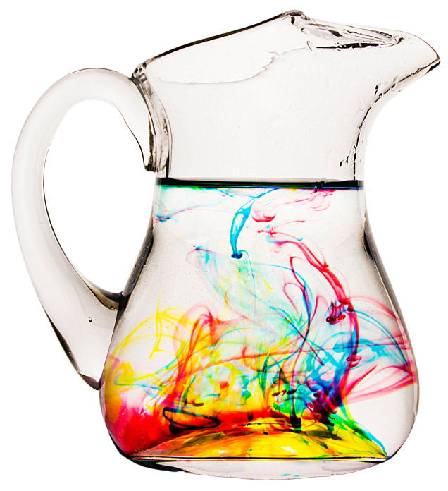 colors in water