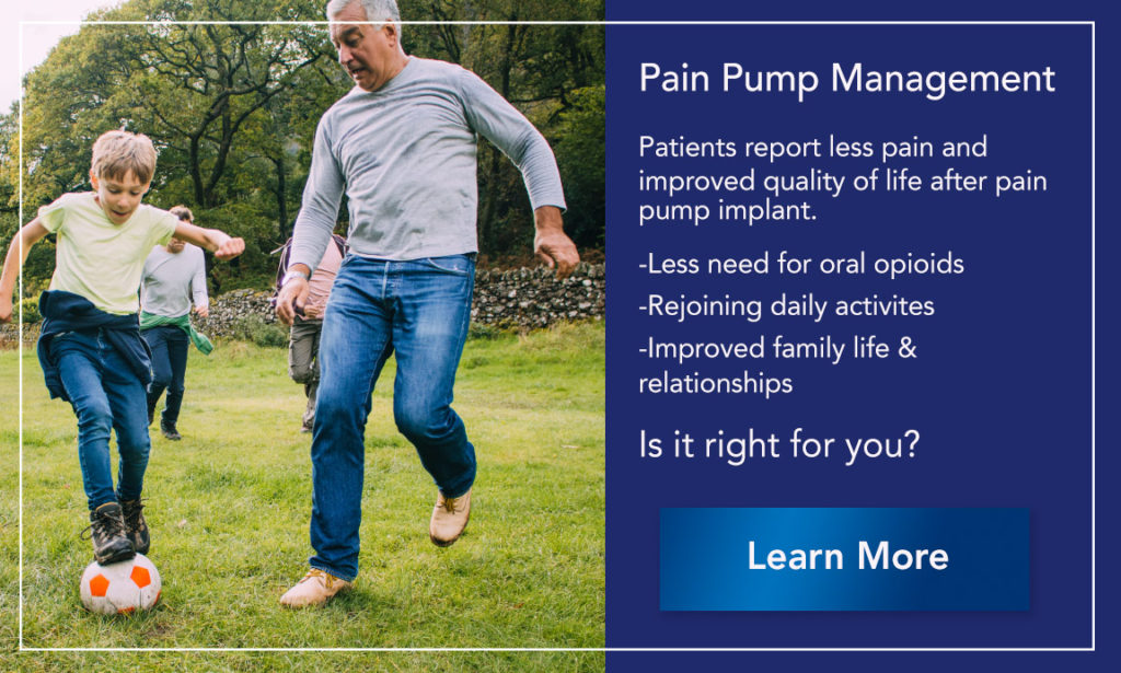 pain pump management