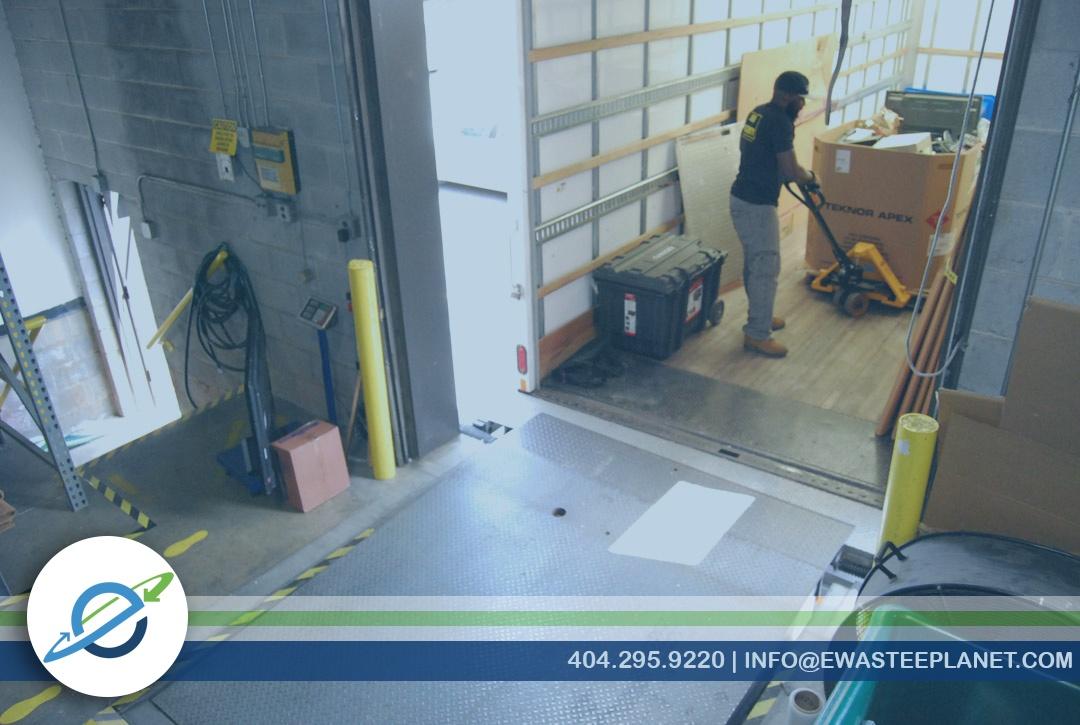 Secure Data Center Electronics Pickup Recycling Data Destruction ITAD Atlanta
