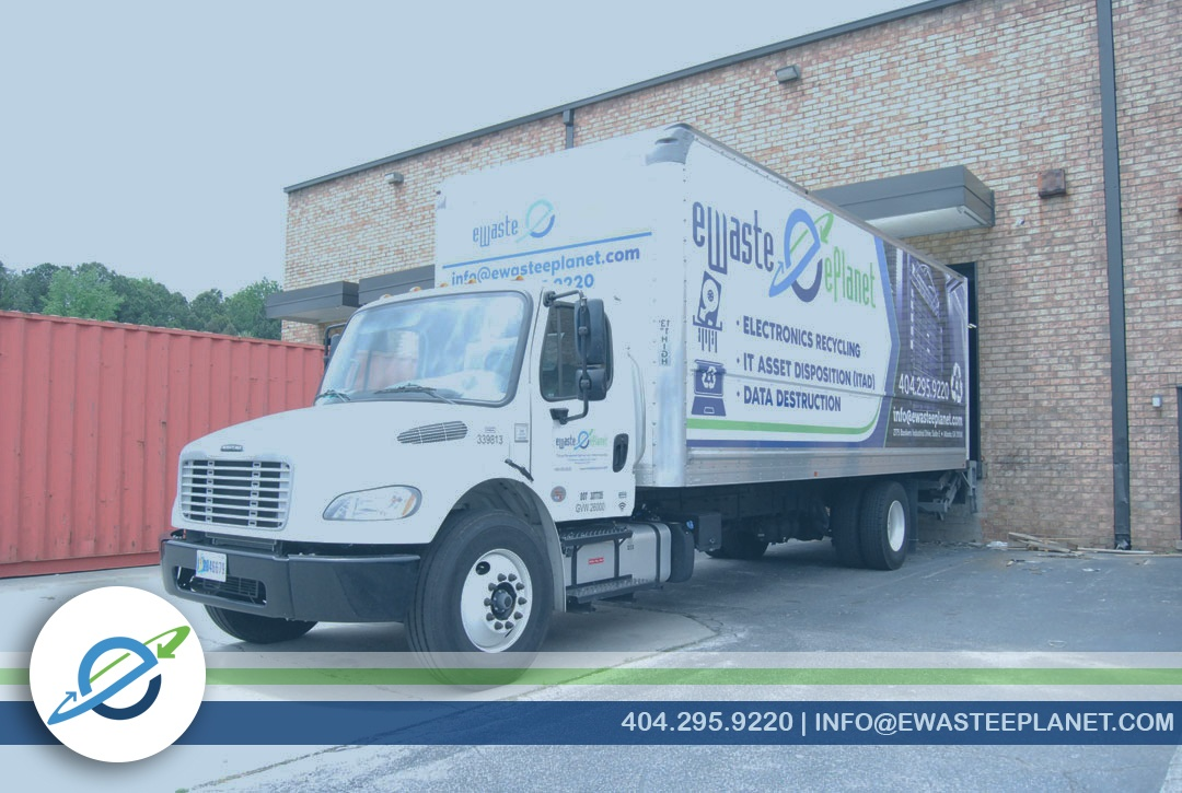 Data Center Electronics Pickup Recycling Data Destruction ITAD Atlanta
