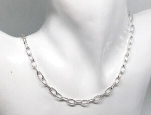 Plain Silver Chains