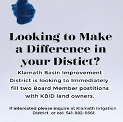 KBID open positions