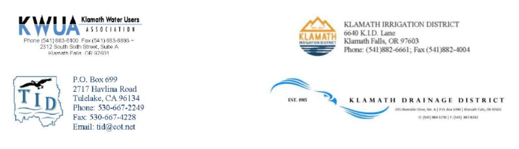 The logos of KWUA, KID, TID, and KDD