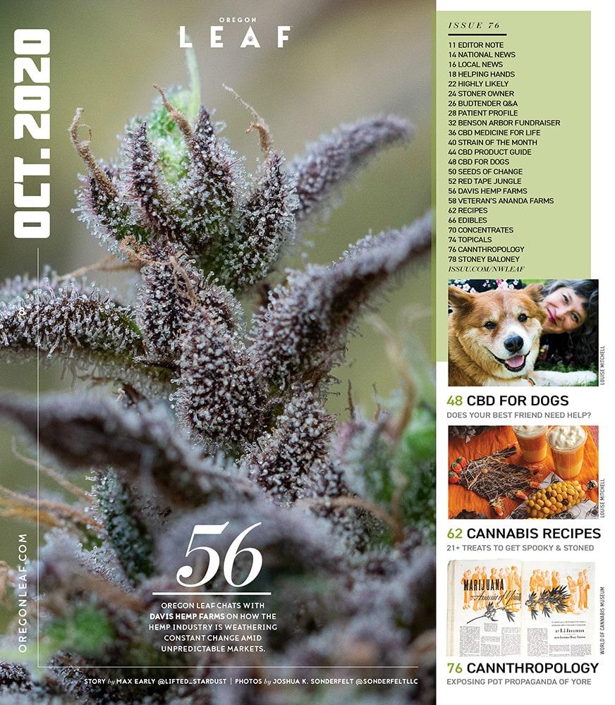 Davis Farms Feature in Oregon Leaf