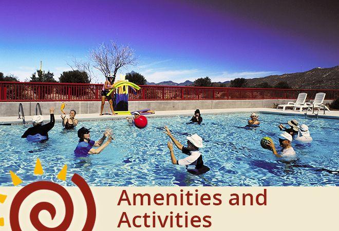 Activities The Academy Villas Pool