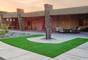 Academy Villas patio
