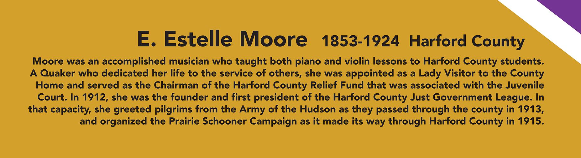 E Estelle Moore