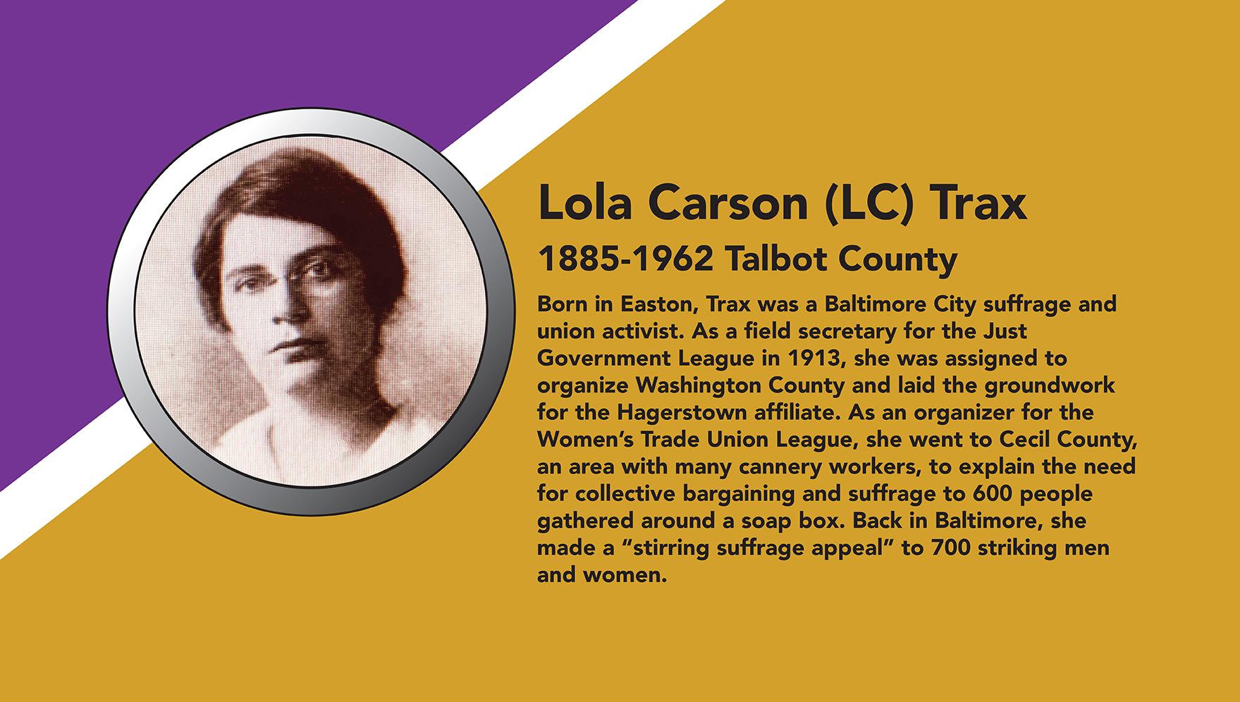 Lola Carson Trax