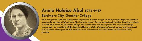 Annie Heloise Abel