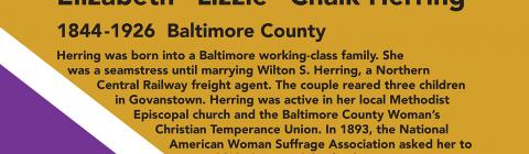 Elizabeth Lizzie Chalk Herring