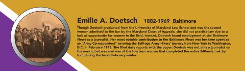 Emilie A Doetsch