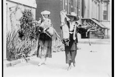 Julia Emory and Bertha Graf, suffragists