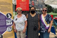 Womens-Equality-Day-Druid-Hill-Park-Bea-Dane-Jean-Thompson-Diana-Bailey