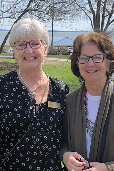 Heritage Center Board member) and Carolyn Pizzuto