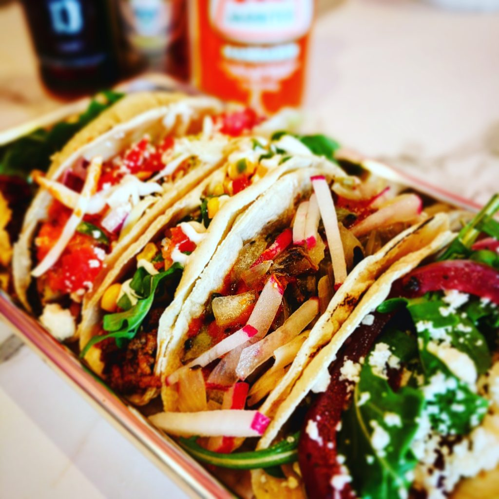 Tacos at The Screaming Goat Taqueria, Gulf Gate, Sarasota, Florida, Chef Malin Parker