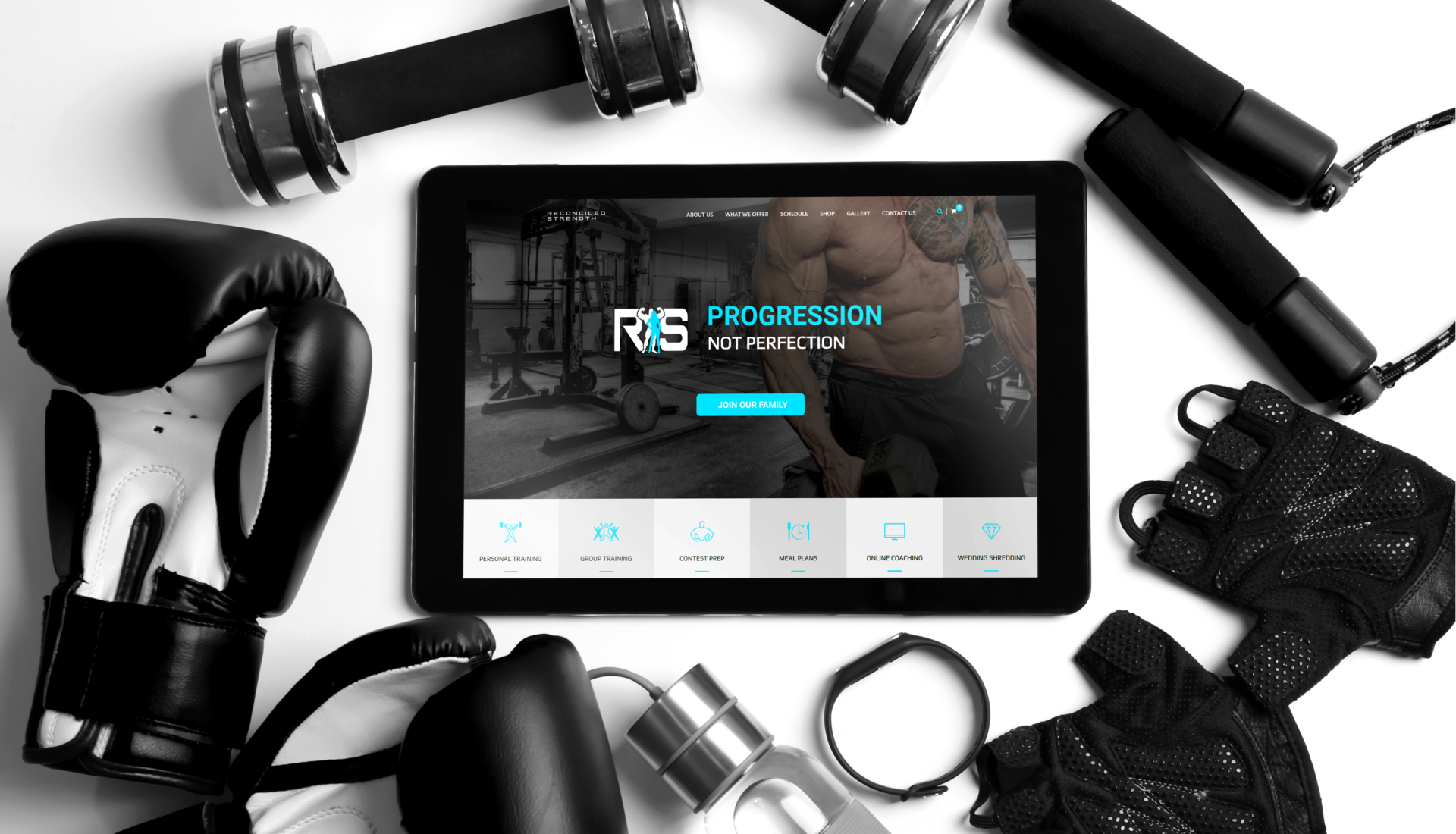 Reconciled Strength - Branding   The Underground Design Studio