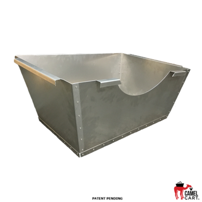 Aluminum HAAS Chip Bin