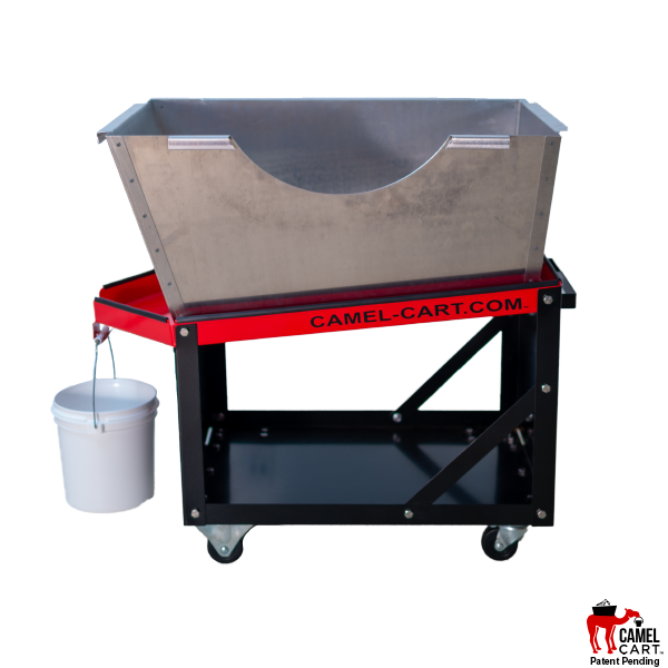 The Standard Camel Cart with HAAS Chip Bin