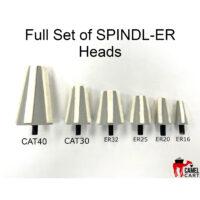 Full Set of SPINDL-ER Heads