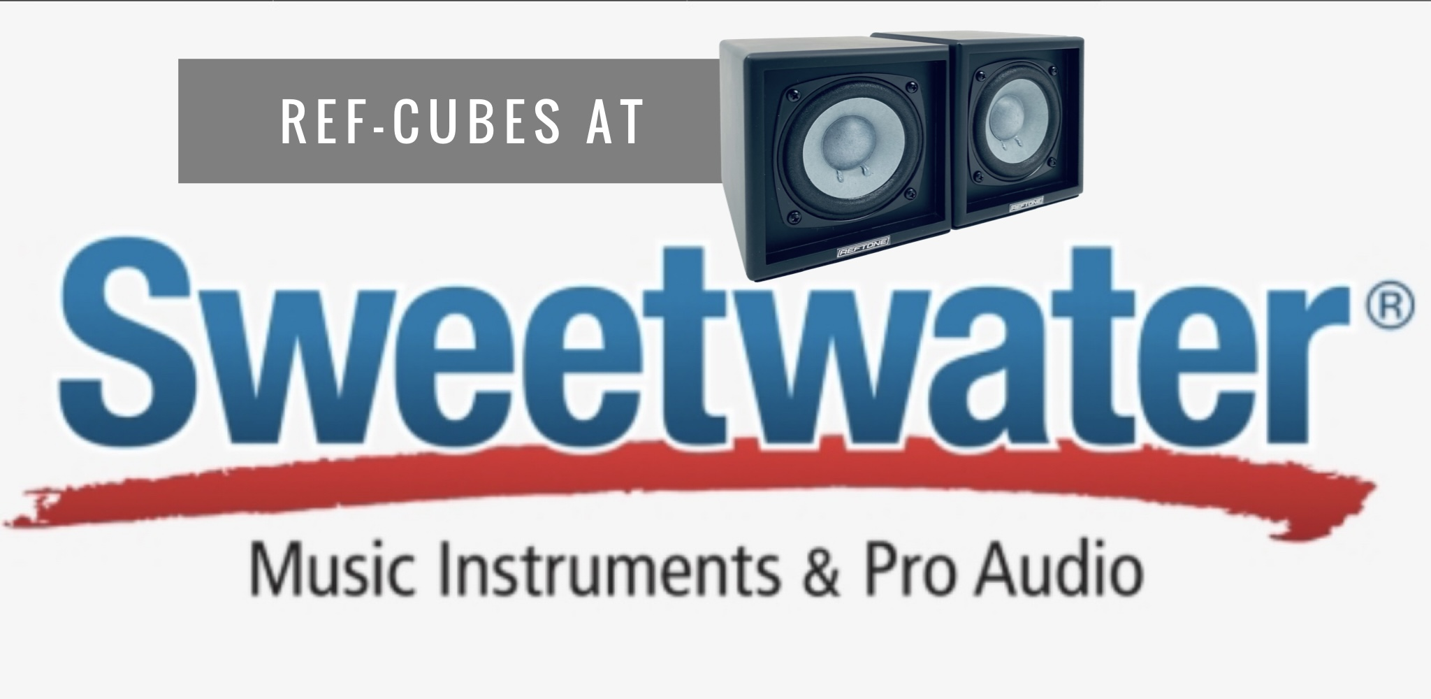 Reftone Announces New Powered Bluetooth Ref-Cubes & Availability at Sweetwater
