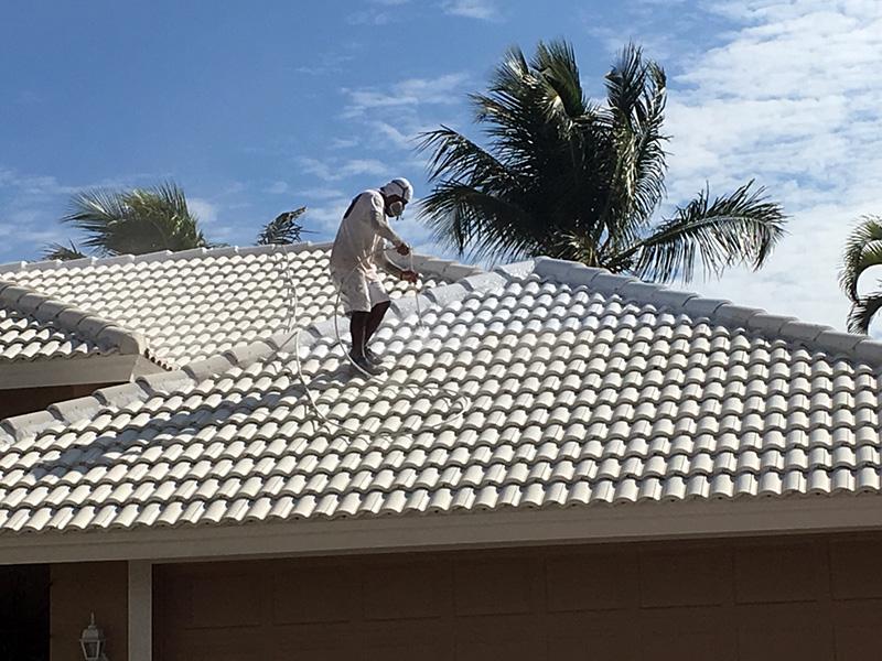 Pressure Washing roof - aceperformanceplus.com