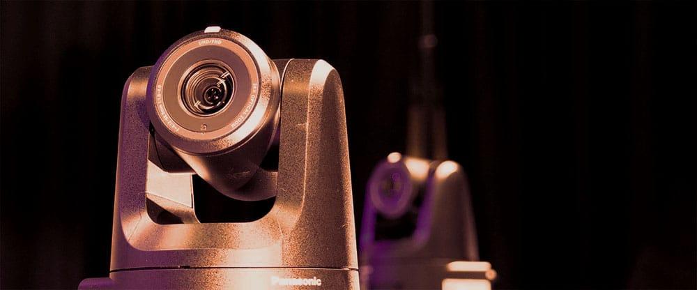Two robotic cameras