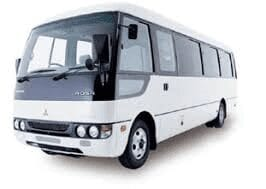 flybus minibus hire fleet 24 seater rosa minibus