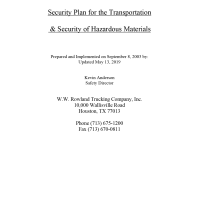 wwrowland-trucking-container-services-houston-texas-security-plan-transportation-security-hazardous-material