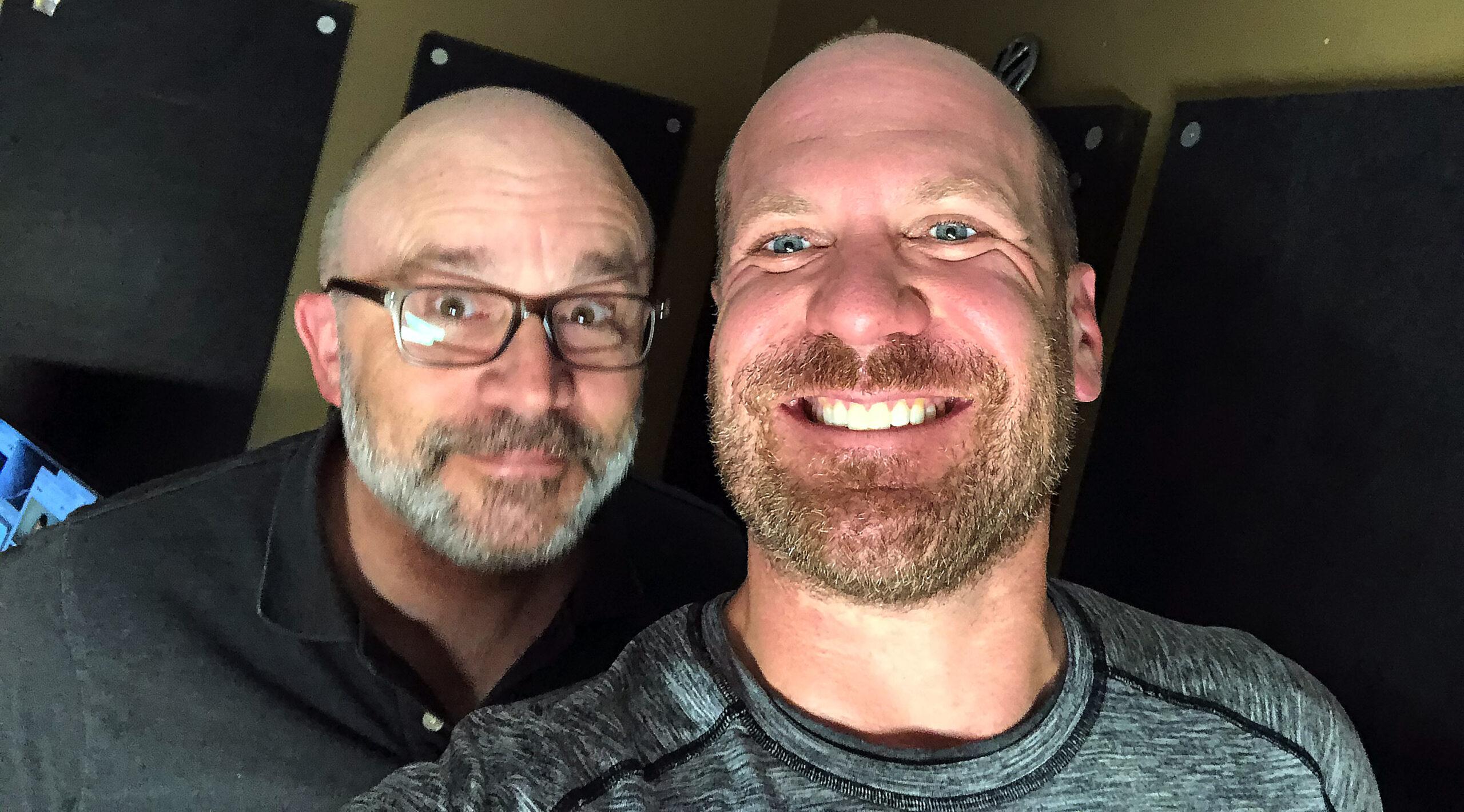 Cory (right) and Dan