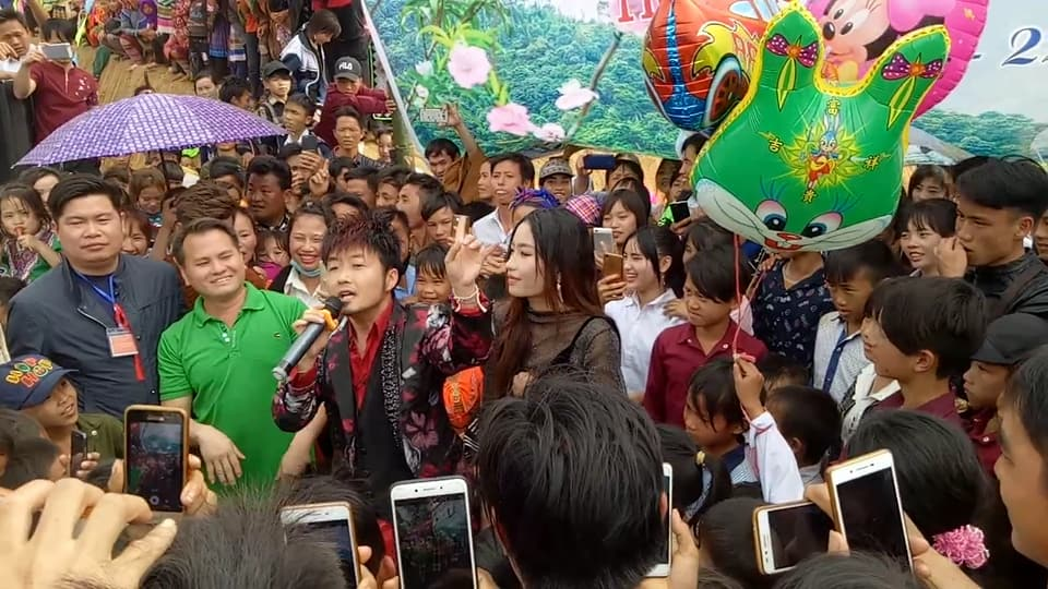 ACTOR/PRODUCER YENGTHA HER IN VIETNAM