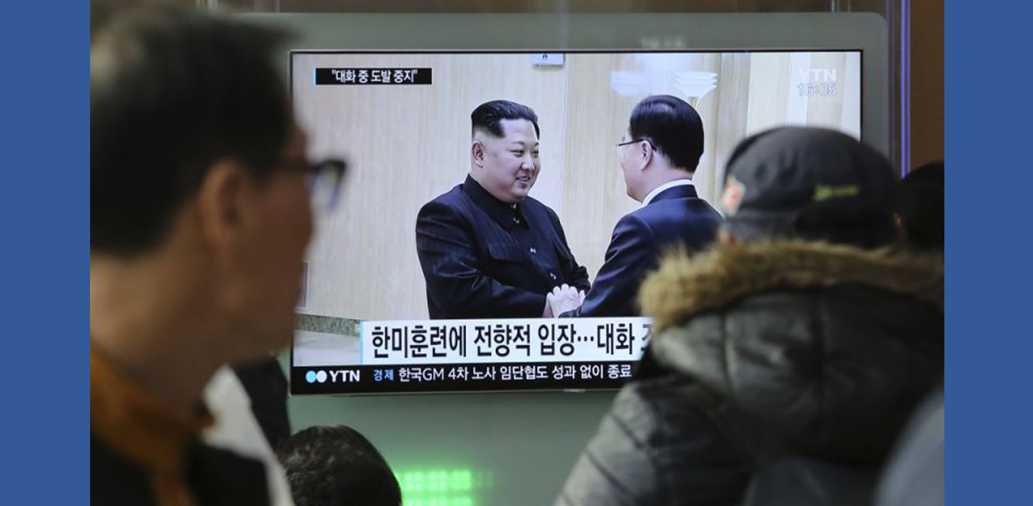 THE LATEST FROM THE ASSOCIATED PRESS: PRESIDENT TRUMP SAID HE WILL MEET WITH NORTH KOREAN LEADER KIM JONG UN IN MAY