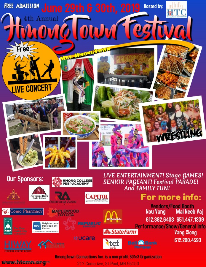 HMONGTOWN FESTIVAL: COME AND ENJOY FOOD AND GAMES THIS SATURDAY, JUNE 29 & 30.