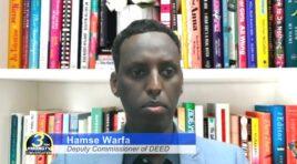 CONVERSATION WITH DEED DEPUTY COMMISSIONER HAMSE WARFA ON CAREER FORCE