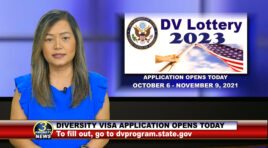 DV-2023 | DIVERSITY VISA LOTTERY APPLICATION STARTS OCT. 6 AND ENDS ON NOV. 9