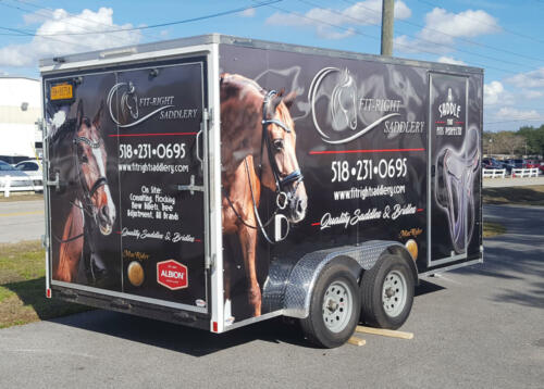 Fit-Right Saddlery Trailer
