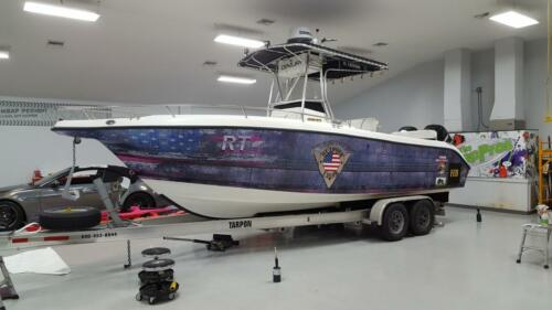 Outdoor Valor Boat Wrap