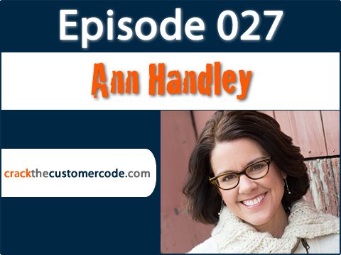 Ann Handley, author of Everybody Writes Podcast Interview