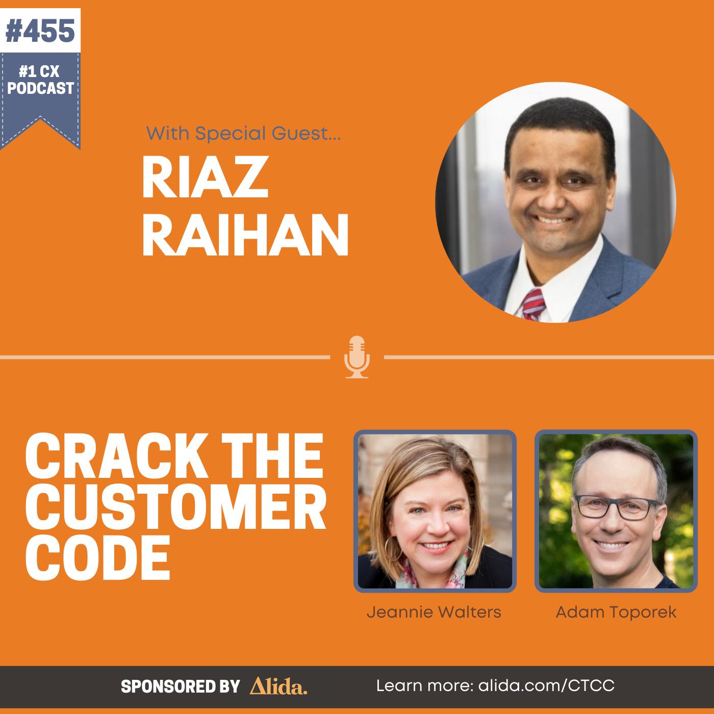 455: Riaz Raihan, Improving CX with AI